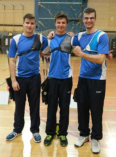 Ekipni državni prvaki ekipa Kamnik 1 ( Klemen Štrajhar, Luka Arnež, Gašper Štrajhar)