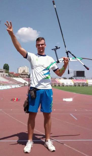 Gašper Štrajhar, bronasta medalja med mladinci