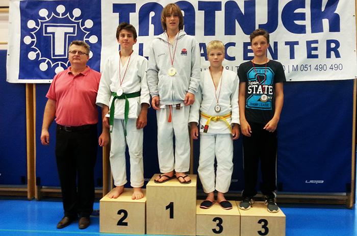 Nik Purnat z zlato medaljo!