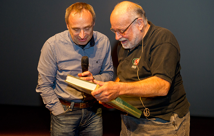 Silvo Karo in Kurt Diemberger_foto Igor Kuster_FGF