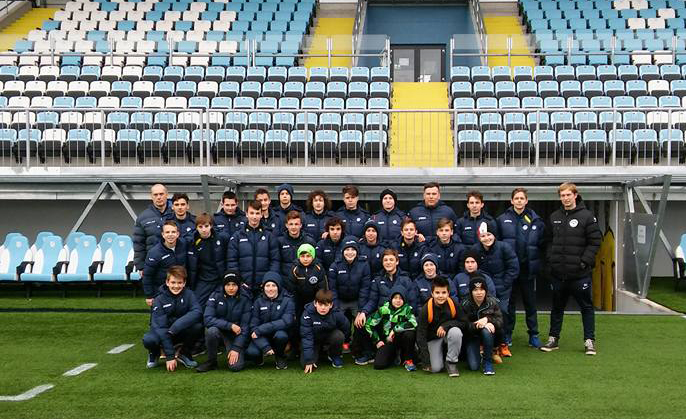 u13 in u15 Nk Roltek Dob obiskala stadion Rujevica, domovanje HNK Rijeka