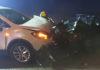 Prometna nesreča na Prešernovi cesti v Radomljah